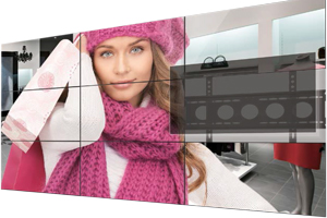 The Smartest Choice  For Seamless Innovation - Video Wall LG 47WV30