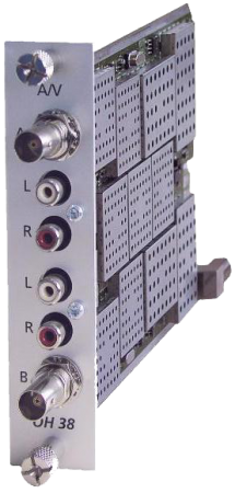 WISI OH38: Card điều chế AV sang RF Analog