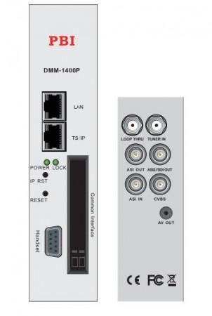 Modules IRD DMM-1200P/-1400P Series với bộ xử lý MPEG-2 SD chuyên nghiệp