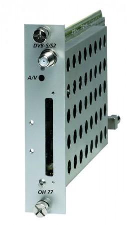 WISI Compact OH 77 Điều chế tín hiệu Analog (DVB-S/S2)